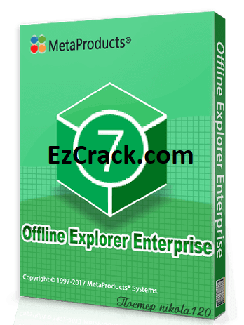 Offline Explorer Enterprise 7.6 Crack Full Free Download