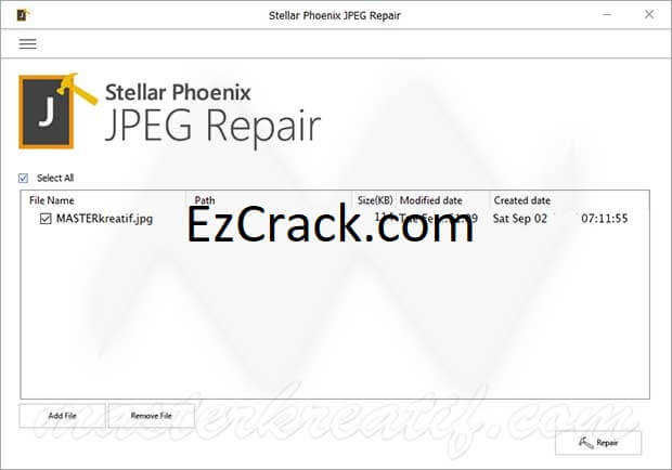 Stellar Phoenix JPEG Repair Crack 6.0 Full Version