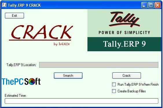 Tally ERP 9 Crack free