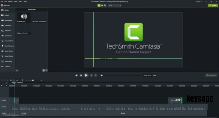 TechSmith Camtasia Studio 2021.0.13 Build 28357 + Patch Serial Code