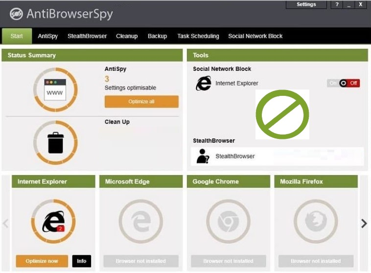 AntiBrowserSpy Pro 2021.4.06.49 Retail Crack+ Activation Key [Latest] Free Download