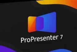 ProPresenter 7.4.1 + Crack Registration Number [Latest] 2021 Free