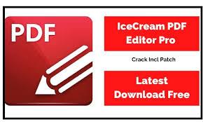 Icecream PDF Editor Pro 2.47 Crack Plus Activation Key [2021] Free